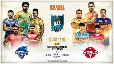 Pro Kabaddi All Start Clash Match ProKabaddi Season 7 Live Score